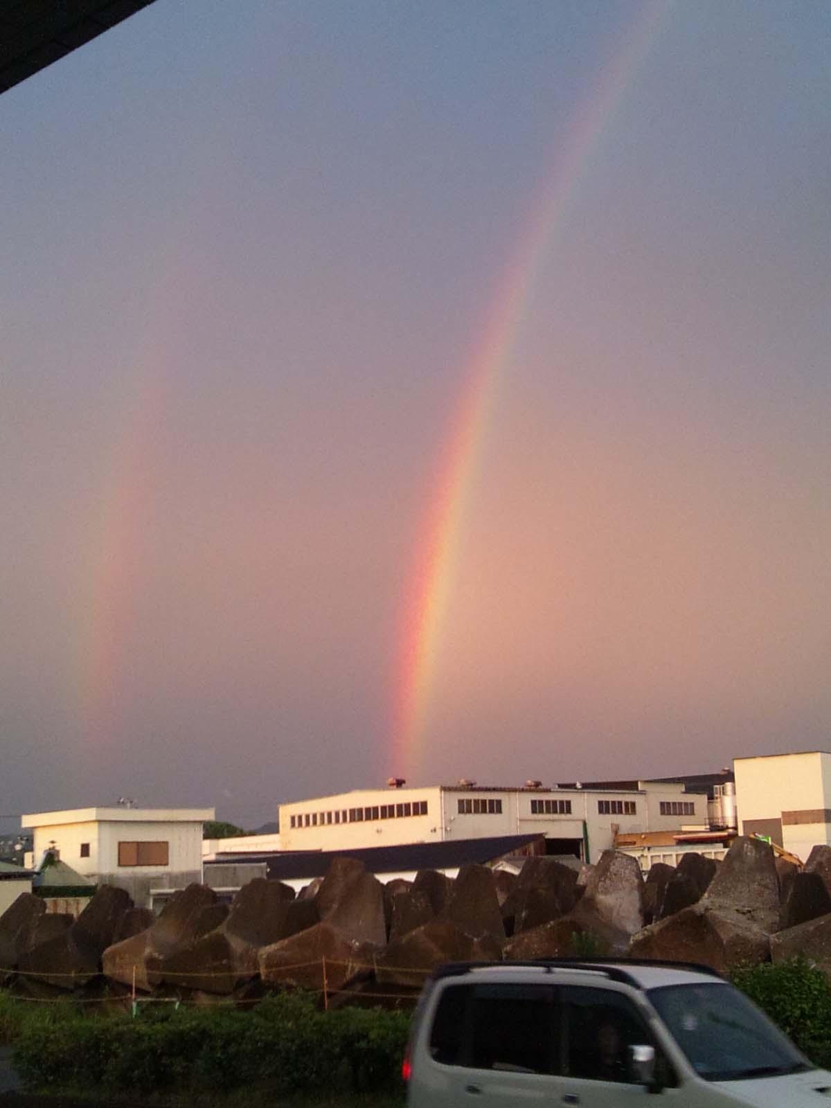 虹、見ましたか?