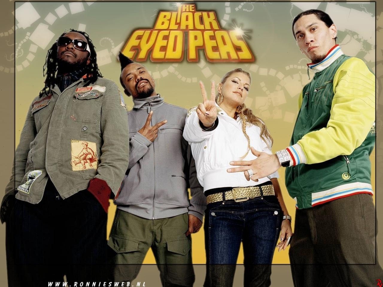 Black Eyed Peasって誰??